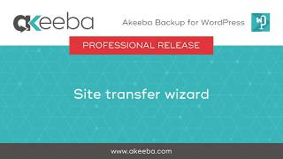 Watch a video on Site Transfer Wizard [03:04]