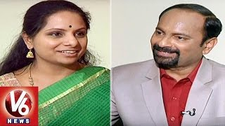 Nizamabad MP Kavitha Exclusive Interview   Innerview