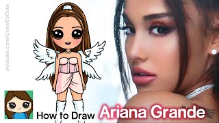 How To Draw Ariana Grande | Dont Call Me Angel Music Video
