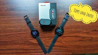 Polar H9 Brustgurt mit WearOS und Garmin Smartwatch verbinden ? (Tipps und Infos)