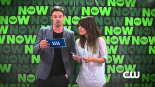 Kristin Kreuk & Jay Ryan answer fan Questions