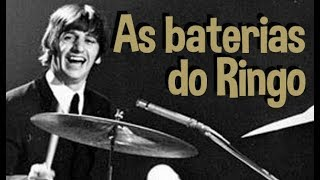 Histórias da Bateria - As baterias do Ringo!