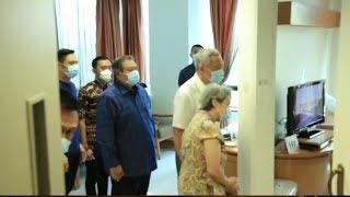 Perdana Menteri Singapura Jenguk Ani Yudhoyono, Beri Semangat dan Doakan Cepat Sembuh