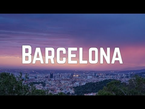 Max George - Barcelona (Lyrics)