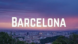 Max George   Barcelona (Lyrics)