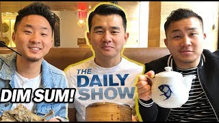 Michelin Star DIM SUM w/ RONNY CHIENG from The Daily Show w/ Trevor Noah // Fung Bros - Video Youtube