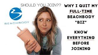 "Beachbody's WRONG ""BUSINESS"" system | Why I Quit Beachbody Coaching  #ANTIMLM"