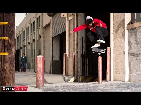 Na-Kel Smith | X Games Real Street 2017