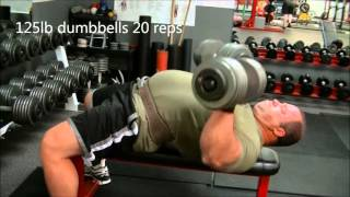Speed bench workout
