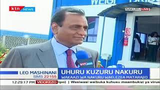 Rais Uhuru Kenyatta Kuzuru Nakuru huku akitarajiwa kufunguwa kiwanda cha saruji cha simba