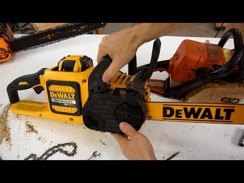Dewalt 60volt brushless chainsaw review