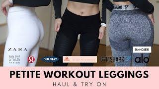 2af29df887 MASSIVE Workout Leggings Haul & Try On   PETITE GIRLS (Short ~5'1