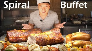 LEGENDARY All You Can Eat Buffet in Manila Philippines - Spiral Buffet Review - Video Youtube