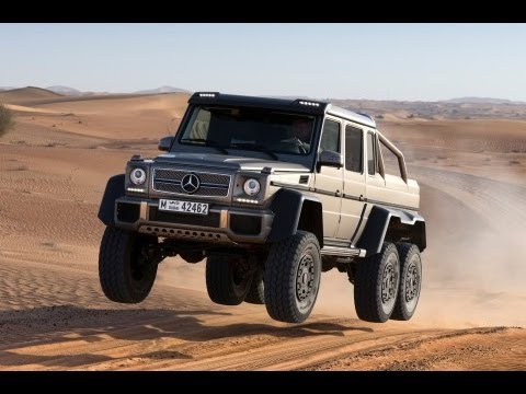 Mercedes G63 AMG 6×6 Quick Look