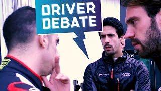 SPY CAM! Drivers & Race Director Debate | ABB FIA Formula E Championship
