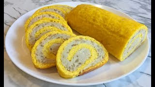 Сырный Рулет с Куриным Фаршем Так Вкусно Что Язык Проглотишь!!! / Праздничная Закуска / Cheese Roll
