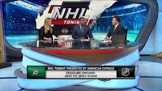 NHL Tonight:  Trade Deadline:  Best fits for playoff teams at the trade deadline  Feb 11,  2019