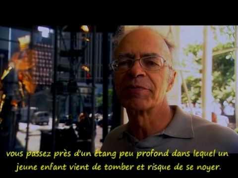 Vidéo de Peter Singer