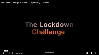 The Lockdown Challenge Episode 1