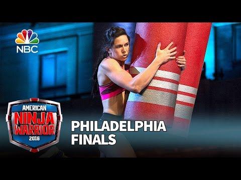 Jesse Labreck at the Philadelphia Finals - American Ninja Warrior 2016