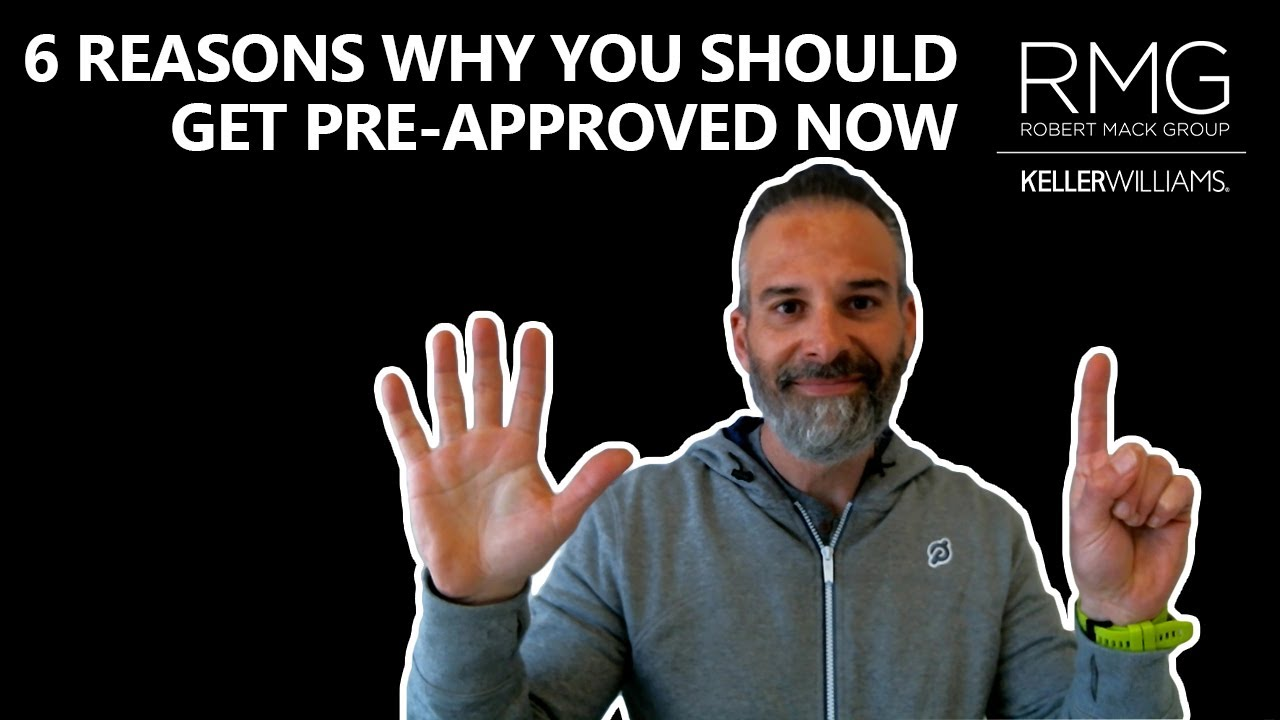 6 Reasons to Get Pre-Approved Today