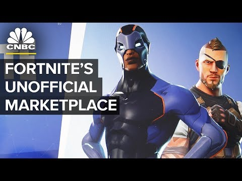 Fortnite Players Are Selling Their Accounts