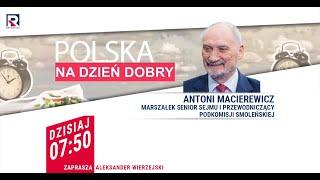 Polska kupuje nowoczesne czołgi by odstraszyć Rosję – Antoni Macierewicz | Polska na dzień dobry 1/4