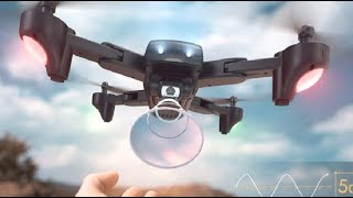 SNAPTAIN SP500 Foldable GPS FPV Drone, Big gust of wind