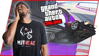 I GIVE UP! WILL THERE EVER BE A GOOD CLEAN RACE?! - GTA Online Race Gameplay