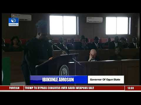 Buhari Commissions Legacy Projects In Ogun Pt.7