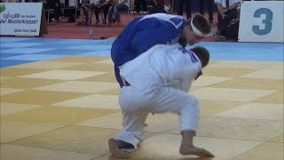 Junior European Judo Cup Berlin 2015  -73 kg Final Kirakozashvili (GEO) - Casse (BEL)