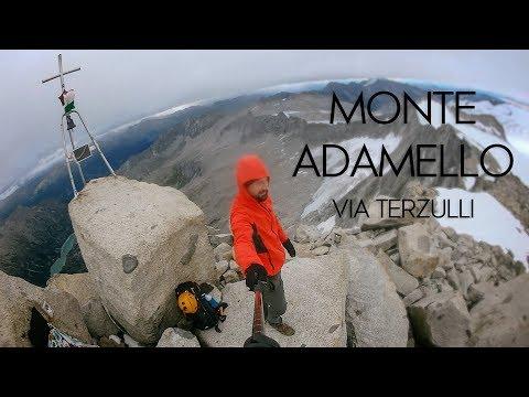 Monte Adamello (3539 mt.)  Via Terzulli - Gruppo dell'Adamello, Valcamonica.