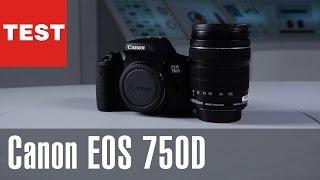 Canon EOS 750D: Spiegelreflexkamera im Test