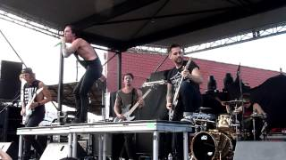 The Word Alive - Dragon Spell - Live 10-27-13 Lonestar Metalfest