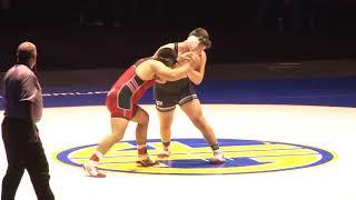 220 lbs. Joey Daniel (Santa Ana) vs Isaiah Perez (Pitman)