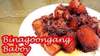 BINAGOONGANG BABOY!!!