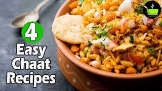 4 Chaat Recipes   Monsoon Special Recipes   Indian Street Food   Tea Time Snacks   Instant Snacks