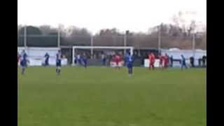 preview picture of video 'Carshalton Ath. 1 - 3 Kingstonian - Penalty #2'