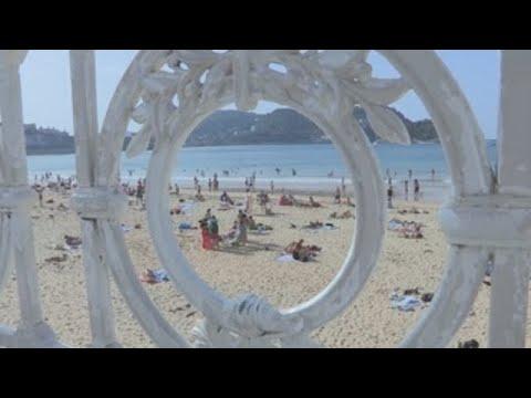San Sebastián disfruta de un verano inesperado en octubre