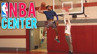 I Challenged a NBA CENTER to 1v1 BASKETBALL and this happened...