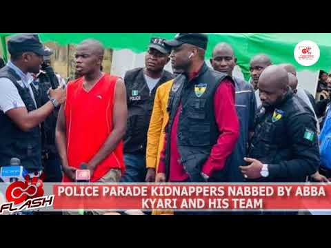 Police Parade Kidnappers Nabbed By Super Cop, Abba Kyari and His Team