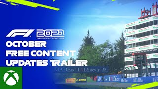 Xbox F1® 2021   October Free Content Updates Trailer anuncio