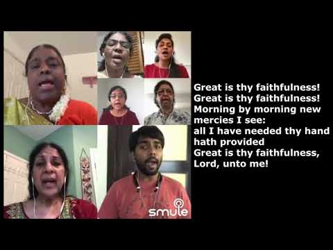 VIDEO: Great is thy faithfulness by Choir