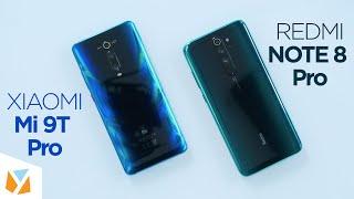 Xiaomi Redmi Note 8 Pro vs Xiaomi Mi 9T Pro Comparison Review
