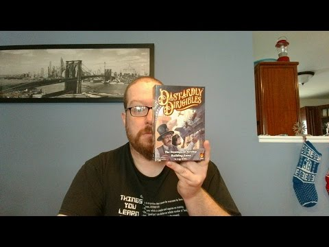 The Board Game Kaptain's review and tutorial for Dastardly Dirigibles