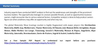 Maternity Wear Market advancement and growth analysis with forecast to 2027