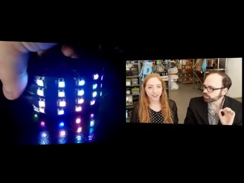 Collin cohosts Wearable Electronics with Becky Stern 1/27/2016 - LIVE