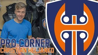 PRO Corner - Christian Heljanko (Tappara)