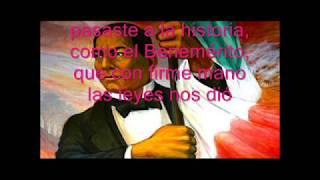 Benito Juárez Canción Infantil Letra Y Pista