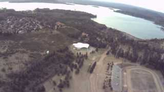 preview picture of video 'vuelo sobre embalse provincia de cordoba argentina'